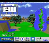 True Golf Classics: Wicked 18 SNES Set your stance.