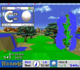 True Golf Classics: Wicked 18 SNES Set the power of the swing.