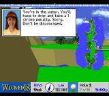 True Golf Classics: Wicked 18 SNES Water hazard