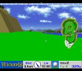 True Golf Classics: Wicked 18 SNES The second hole