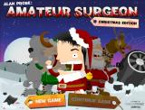 Amateur Surgeon: Christmas Edition Browser Main menu