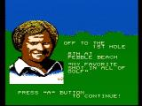Jack Nicklaus' Greatest 18 Holes of Major Championship Golf NES Off to the next hole...