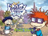 Rugrats in Paris: The Movie Nintendo 64 Title screen
