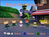 Rugrats in Paris: The Movie Nintendo 64 Choose your character.