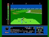 Jack Nicklaus' Greatest 18 Holes of Major Championship Golf NES Teeing off