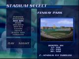 Ken Griffey Jr.'s Slugfest Nintendo 64 What stadium will we play in?