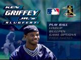 Ken Griffey Jr.'s Slugfest Nintendo 64 Do I play ball or look at the other menus?