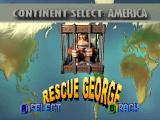 Rampage 2: Universal Tour Nintendo 64 Select your continent. I will start with America.