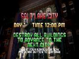 Rampage 2: Universal Tour Nintendo 64 Day 1: Salt Lake City