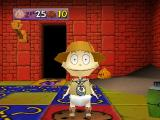 Rugrats: Scavenger Hunt Nintendo 64 I landed on a space that loses me a cookie.
