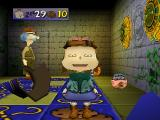 Rugrats: Scavenger Hunt Nintendo 64 Lil landed on a space that givers her cookies.