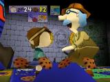 Rugrats: Scavenger Hunt Nintendo 64 If you meet Grandpa, he will give you some cookies.