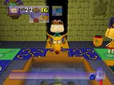 Rugrats: Scavenger Hunt Nintendo 64 If you meet Spike, he will carry you five spaces.