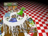 Rugrats: Scavenger Hunt Nintendo 64 If you land on a space under Reptar, he may help or hinder.