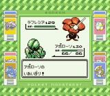 Pocket Monsters Midori Game Boy Trimming the flowers.