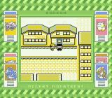 Pocket Monsters Midori Game Boy In the golden city, a gang of thieves have taken over. A Rocket gangster blocks the door.