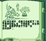 Pinocchio Game Boy Opening story