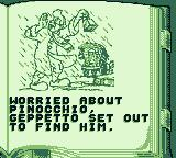 Pinocchio Game Boy The next story chapter.