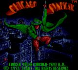 Chicago Syndicate Game Gear Title screen