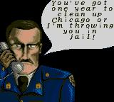 Chicago Syndicate Game Gear I started the game.