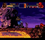 Shaq Fu SNES Jumping in the air.