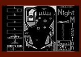 Night Mission Pinball Atari 8-bit The border color can be changed, if you want.
