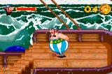 Asterix & Obelix: Bash Them All! Game Boy Advance Starting location