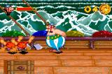 Asterix & Obelix: Bash Them All! Game Boy Advance And they go flying.