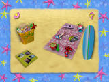 Barbie Beach Vacation Windows Main menu