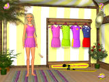 Barbie Beach Vacation Windows Select an outfit for the water skiing activity