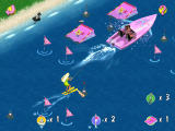 Barbie Beach Vacation Windows Water skiing, jumping off ramps, maneuvering between gates, collecting flags and bonus party items