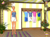 Barbie Beach Vacation Windows Select an outfit for playing at the beach