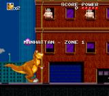 We're Back!: A Dinosaur's Story SNES Starting out in Manhattan.