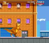 We're Back!: A Dinosaur's Story SNES Watch out for the guys above dropping objects.