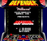 Arcade Classic 4: Defender/Joust Game Boy Defender title screen