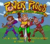 Power Piggs of the Dark Age  SNES Title screen