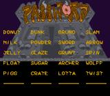Power Piggs of the Dark Age  SNES Password screen