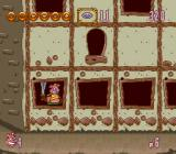 Power Piggs of the Dark Age  SNES Inside a building