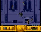 Batman Returns Amiga Evading enemy fire.
