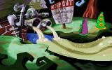 Maniac Mansion: Day of the Tentacle DOS The Sludge'o'matic and the Tentacles