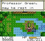 Metal Walker Game Boy Color A grave in the islands only green spot...