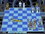 Star Wars Chess DOS This is the only way 3PO is ever going to be defeating a scout walker -- by having it trip over his cowardly shell!