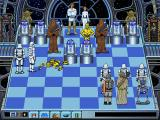 Star Wars Chess DOS A Stormtrooper dismantles 3PO