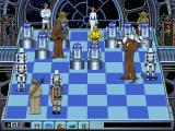 Star Wars Chess DOS Chewie dismantles a Stormtrooper