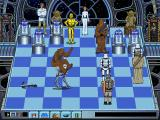 The Software Toolworks' Star Wars Chess DOS Chewbacca vents his frustrations on the AT-ST