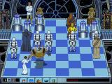 The Software Toolworks' Star Wars Chess DOS Leia takes on a Tusken Raider