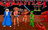 Gauntlet II Amiga Title screen