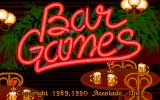 Bar Games Amiga Title screen