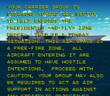Turn and Burn: No-Fly Zone SNES Intro storyline