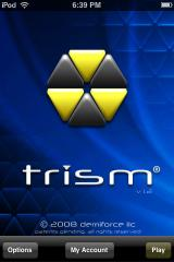 Trism iPhone Title screen